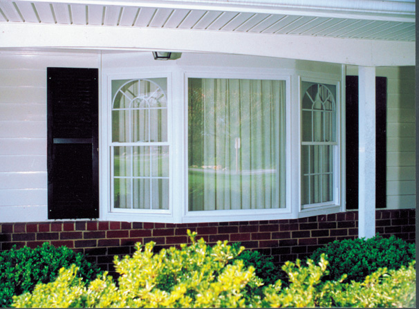 Bay windows charlotte charlotte replacement windows for Bay window designs